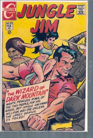 JUNGLE JIM # 22, 4.5 VG +