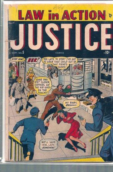 JUSTICE COMICS # 5, 2.0 GD