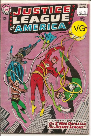 Justice League of America # 27, 4.5 VG +