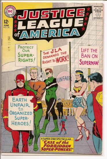 Justice League of America # 28, 4.0 VG