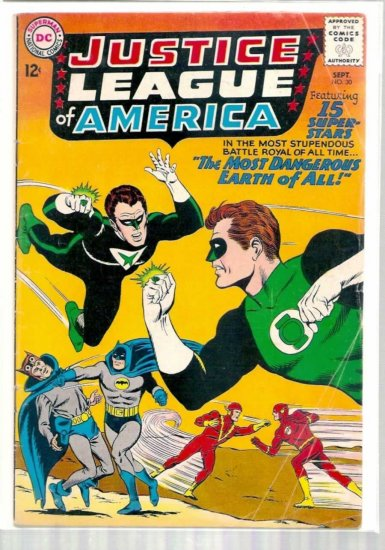 JUSTICE LEAGUE OF AMERICA # 30, 4.0 VG