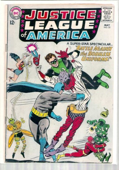 JUSTICE LEAGUE OF AMERICA # 35, 3.0 GD/VG