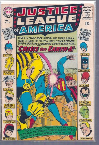 Justice League of America # 38, 4.0 VG