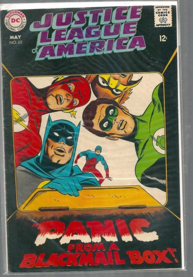 Justice League of America # 62, 5.5 FN -