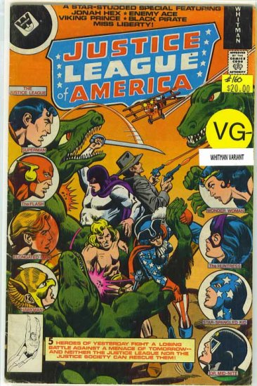Justice League of America # 160, 3.5 VG -