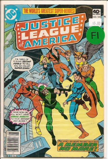 Justice League of America # 181, 6.0 FN