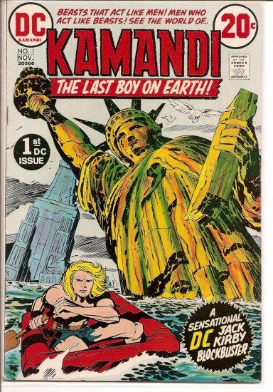 Kamandi, The Last Boy On Earth # 1, 4.0 VG