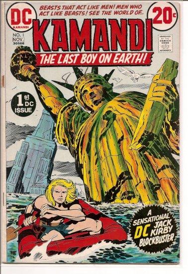 Kamandi, The Last Boy On Earth # 1, 2.5 GD +