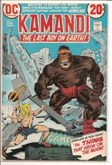 Kamandi, The Last Boy On Earth # 3, 6.5 FN +