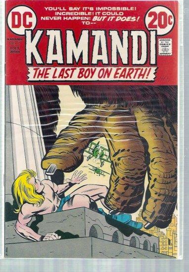 KAMANDI, THE LAST BOY ON EARTH # 7, 4.5 VG +