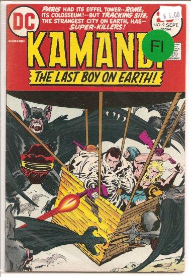 Kamandi, The Last Boy On Earth # 9, 6.0 FN
