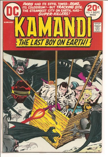 Kamandi, The Last Boy On Earth # 9, 5.5 FN -