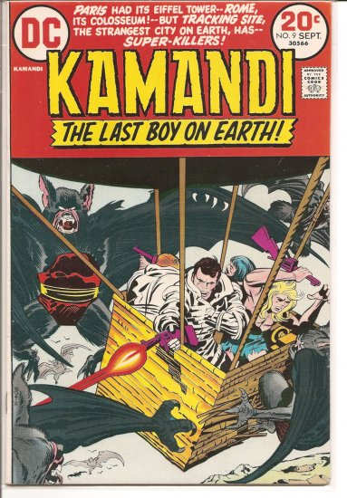 Kamandi, The Last Boy On Earth # 9, 5.0 VG/FN