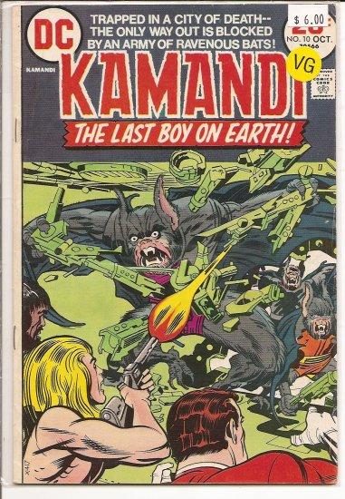 Kamandi, The Last Boy On Earth # 10, 4.0 VG