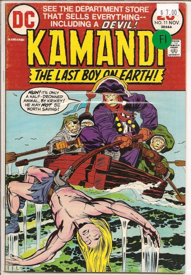 Kamandi, The Last Boy On Earth # 11, 6.0 FN
