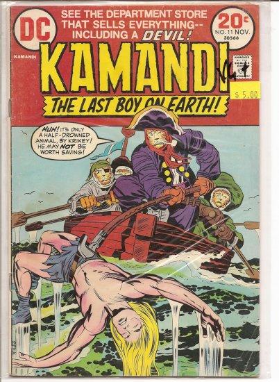 Kamandi, The Last Boy On Earth # 11, 4.5 VG +