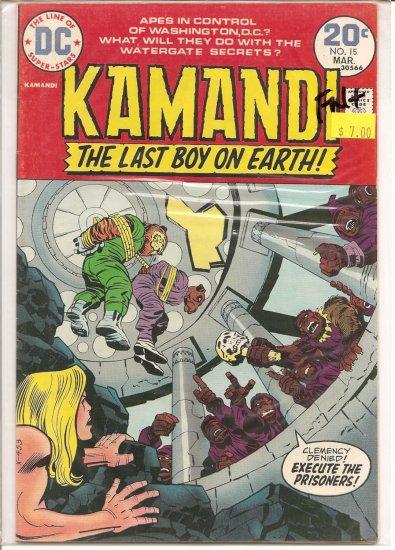 Kamandi, The Last Boy On Earth # 15, 6.5 FN +