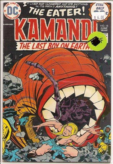 Kamandi, The Last Boy On Earth # 18, 6.0 FN