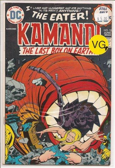 Kamandi, The Last Boy On Earth # 18, 4.5 VG +
