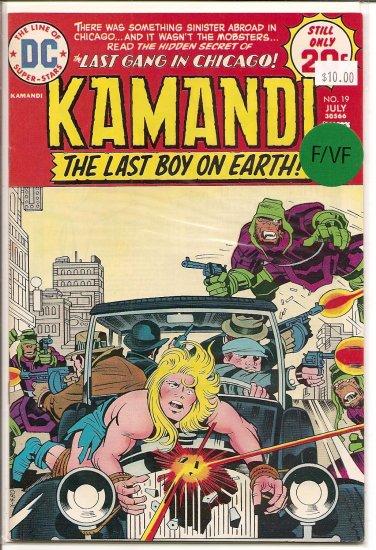 Kamandi, The Last Boy On Earth # 19, 7.0 FN/VF