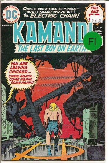 Kamandi, The Last Boy On Earth # 20, 6.0 FN