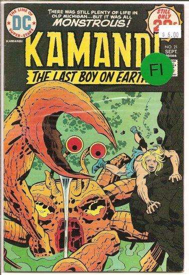 Kamandi, The Last Boy On Earth # 21, 6.0 FN