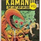 Kamandi, The Last Boy On Earth # 21, 4.0 VG