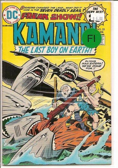 Kamandi, The Last Boy On Earth # 25, 6.0 FN