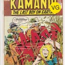 Kamandi, The Last Boy On Earth # 26, 4.0 VG