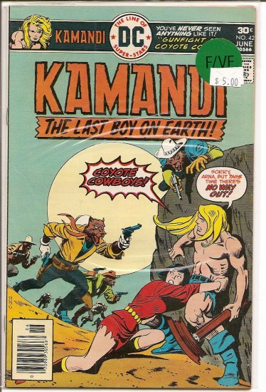 Kamandi, The Last Boy On Earth # 42, 7.0 FN/VF