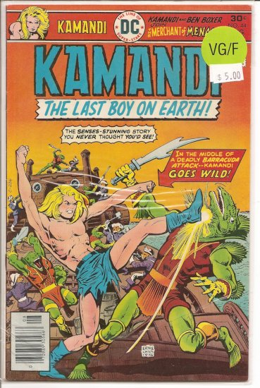 Kamandi, The Last Boy On Earth # 44, 5.0 VG/FN