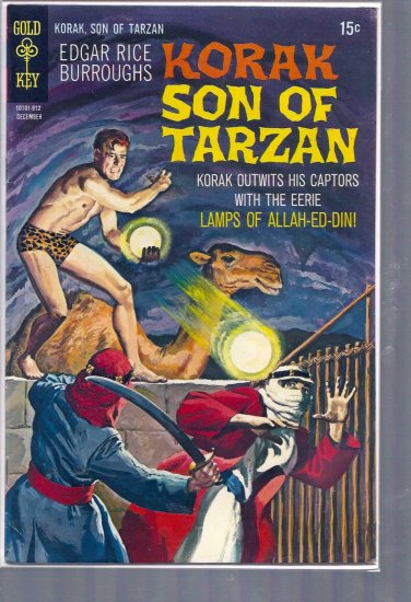 KORAK, SON OF TARZAN # 32, 6.0 FN
