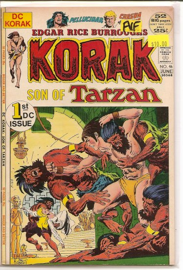 Korak, Son of Tarzan # 46, 7.0 FN/VF