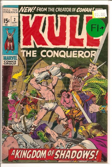 Kull The Conqueror # 2, 6.5 FN +