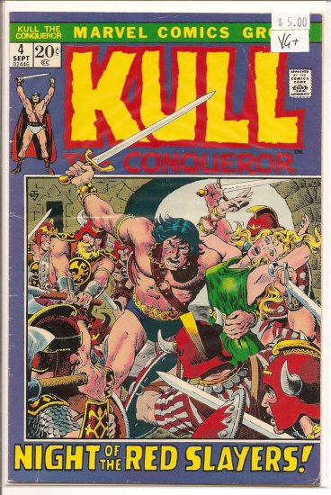 Kull The Conqueror # 4, 4.5 VG +