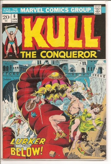 Kull the Conqueror # 6, 7.5 VF -