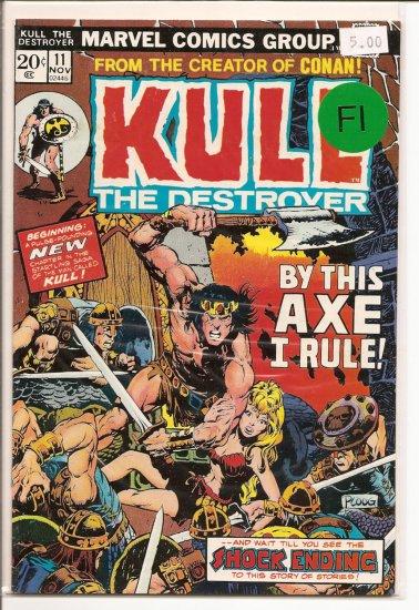 Kull the Destroyer # 11, 6.0 FN