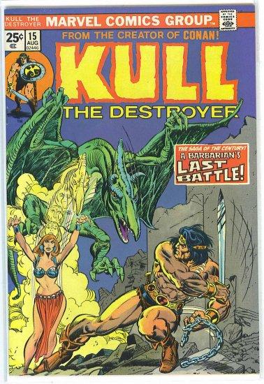 Kull The Destroyer # 15, 7.0 FN/VF