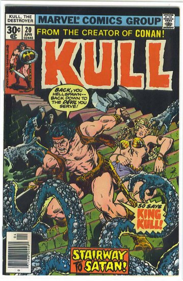 Kull The Destroyer # 20, 7.0 FN/VF