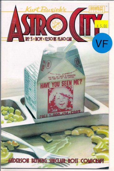Kurt Busiek's Astro City # 3, 8.0 VF