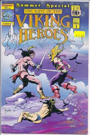 Last of the Viking Heroes Summer Special # 1, 6.5 FN +