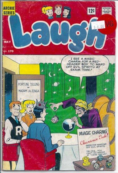 Laugh Comics # 170, 4.0 VG