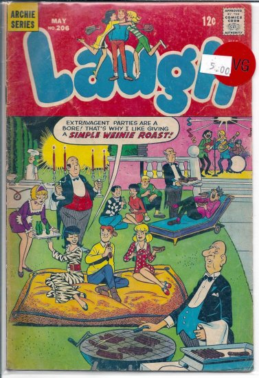 Laugh Comics # 206, 4.0 VG