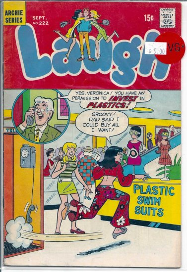 Laugh Comics # 222, 4.5 VG +