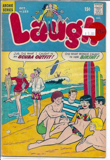 Laugh Comics # 223, 4.5 VG +