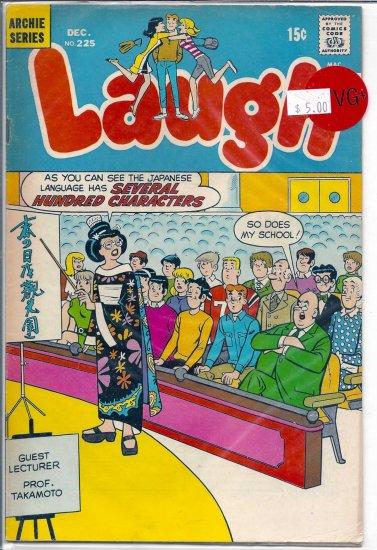 Laugh Comics # 225, 4.5 VG +
