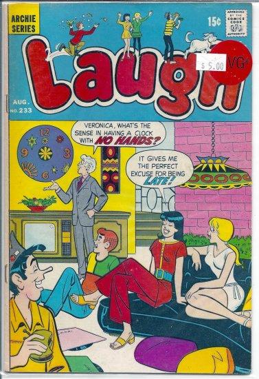 Laugh Comics # 233, 4.5 VG +