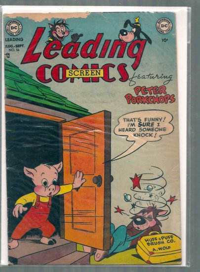 LEADING SCREEN COMICS # 56, 2.0 GD