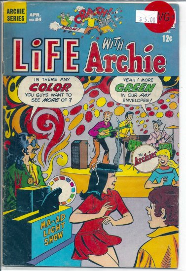 Life With Archie # 84, 4.5 VG +