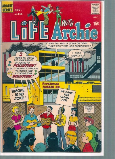 LIFE WITH ARCHIE # 115, 5.0 VG/FN